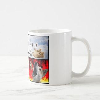 Schlechtes Kätzchen Kaffeetasse