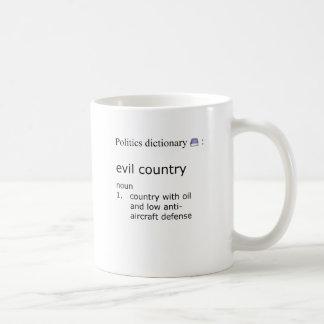 Schlechtes Land Kaffeetasse