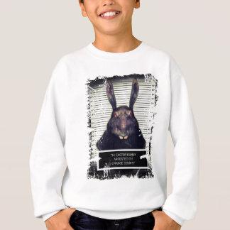 Schlechtes Ostern-Häschen Sweatshirt