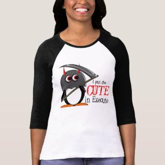 Schlechtes Penguin™ niedliches Scharfrichter-Shirt T-Shirt