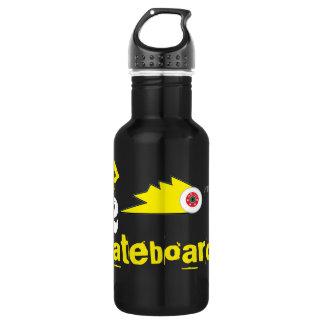 Schleifen Skateboard-Kleidungs-Sportlogo Edelstahlflasche