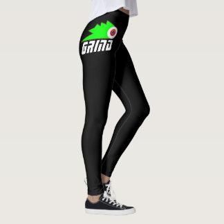 Schleifen Skateboard-Kleidungs-Sportlogo Leggings