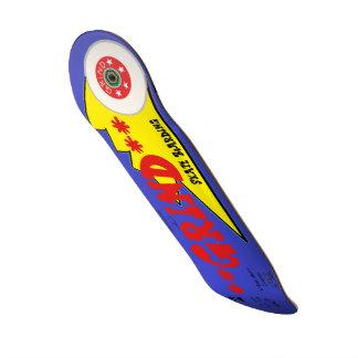 Schleifen-Skateboardkleidung Personalisiertes Deck