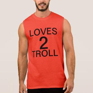 Schleppangel der Lieben 2 Ärmelloses Shirt