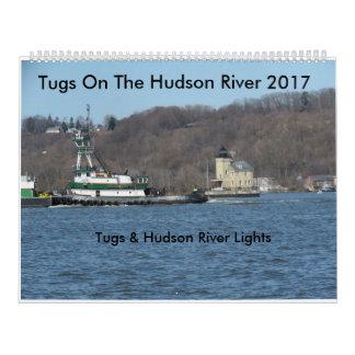 Schlepper auf dem Hudson 2017 Wandkalender