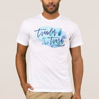 Schleppnetzfischer-Abfall T-Shirt