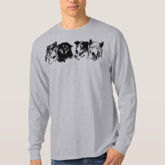 Schlitten-Hunde Tshirts