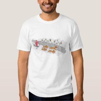Schlitten-Hunderennen T-shirts