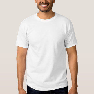 Schlitten-Rückseite T-shirt