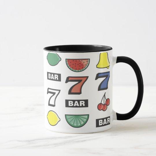 Schlitz-Maschinen-Tassen Tasse