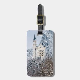 Schloss Neuschwanstein Gepäckanhänger