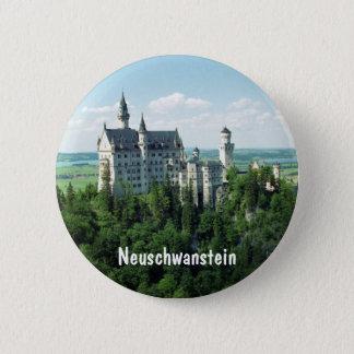 Schloss Neuschwanstein Runder Button 5,7 Cm