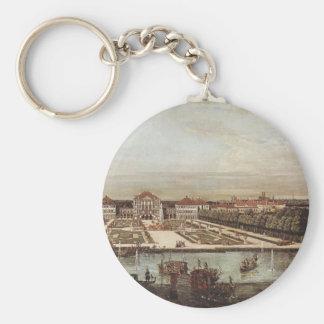 Schloss Nymphenburg durch Bernardo Bellotto Schlüsselanhänger