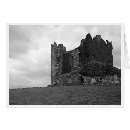Schloss-Ruinen im Landkreis Kerry Karte