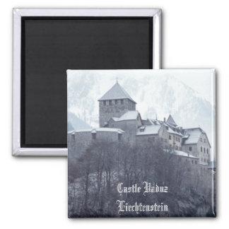 Schloss Vaduz Liechtenstein Quadratischer Magnet