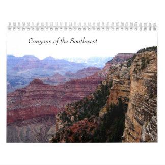 Schluchten des Südwesten~ irgendein Jahr Abreißkalender