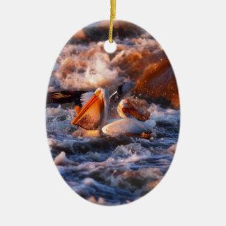 Schluck Ovales Keramik Ornament