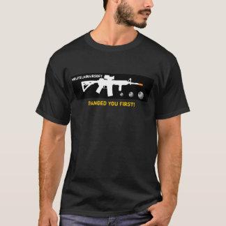 """""""Schlug Sie zuerst"""", Airsoft Shirt"""