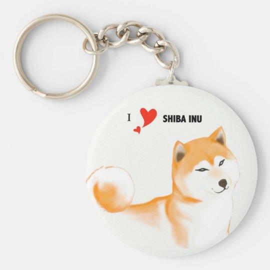 Schlüsselbund Shiba inu Schlüsselanhänger