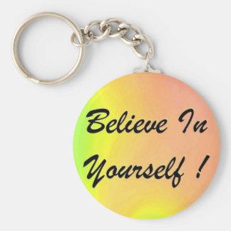 "Schlüsselkette ""glauben an selbst "" schlüsselanhänger"