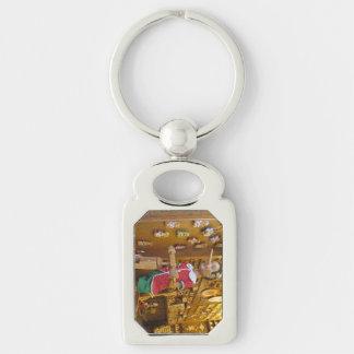 Schlüsselkette--Pinocchio Schlüsselanhänger