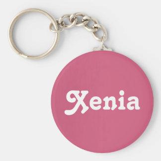 Schlüsselkette Xenia Standard Runder Schlüsselanhänger