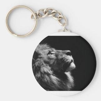 Schlüsselketten-Löwe Standard Runder Schlüsselanhänger