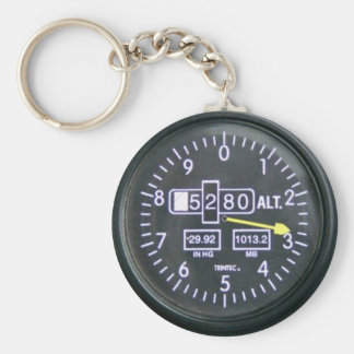 Schlüsselring Höhenmesser - Meer Style 2010 Standard Runder Schlüsselanhänger