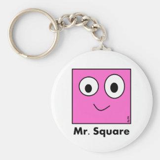 Schlüsselring Mr_. Square By SCHAUFEL Schlüsselanhänger