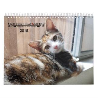 Schmelzen Sie Ihr Herz - MEOW Kätzchen-Kalender Abreißkalender