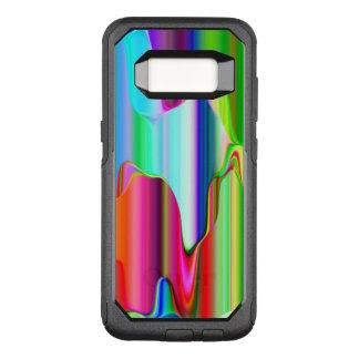 Schmelzender Regenbogen OtterBox Commuter Samsung Galaxy S8 Hülle