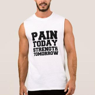Schmerz heute, Stärke morgen Ärmelloses Shirt