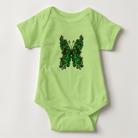 Schmetterling 1 baby strampler