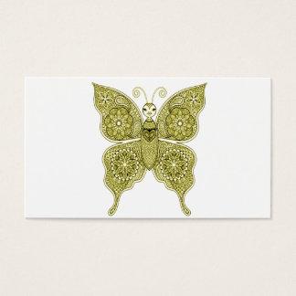 Schmetterling 4 visitenkarte