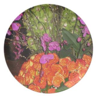SCHMETTERLING Garten Vegas: Blumen, Marienkäfer, Teller