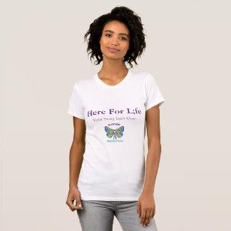 SCHMETTERLING hier für LEBEN T - Shirt