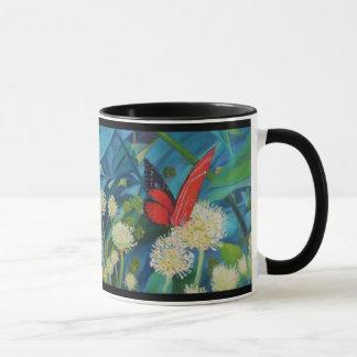 Schmetterling u. Blumen Tasse