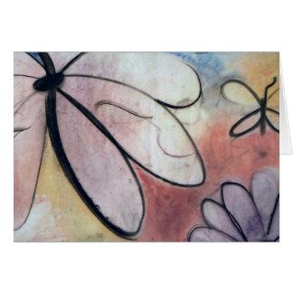 Schmetterlinge, Anmerkungskarte durch Brad Hines Karte