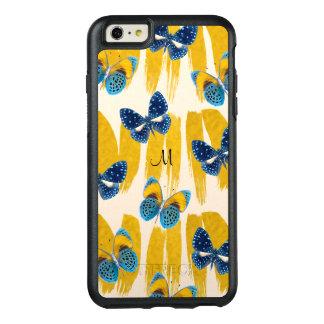 Schmetterlinge auf Goldfarbe Otterbox Fall OtterBox iPhone 6/6s Plus Hülle