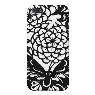Schmetterlinge und Blumen iPhone 5 Case