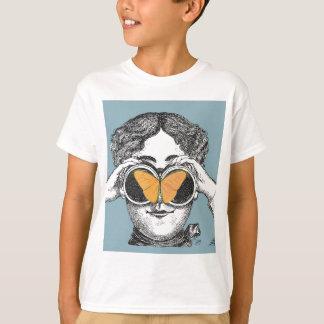 Schmetterlinge und Ferngläser T-Shirt
