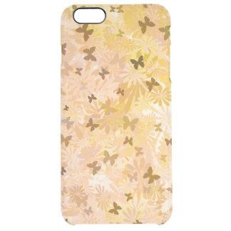 Schmetterlinge und Gänseblümchen durch Shirley Durchsichtige iPhone 6 Plus Hülle