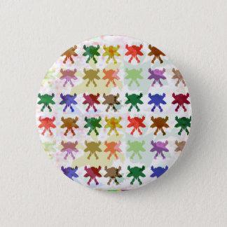 Schmetterlings-Drachen-Muster Runder Button 5,7 Cm