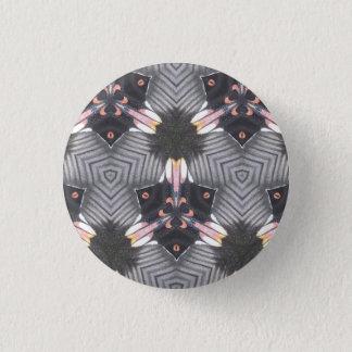 Schmetterlings-Flügel-geometrisches Runder Button 2,5 Cm