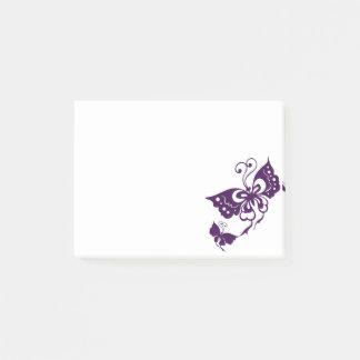 Schmetterlings-Flügel Post-it Klebezettel