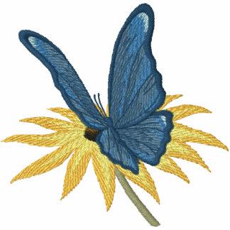 Schmetterlings-Gänseblümchen Kapuzenpulli