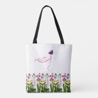 Schmetterlings-Garten-Tasche Tasche