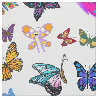Schmetterlings-Gewebe Stoff