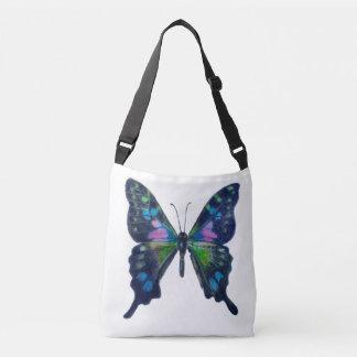 Schmetterlings-Gewohnheit ganz vorbei - drucken Tragetaschen Mit Langen Trägern