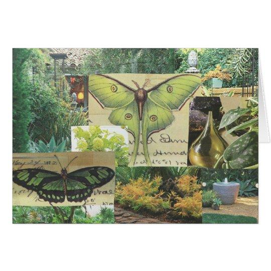 Schmetterlings-Gruß-Karte Grußkarte